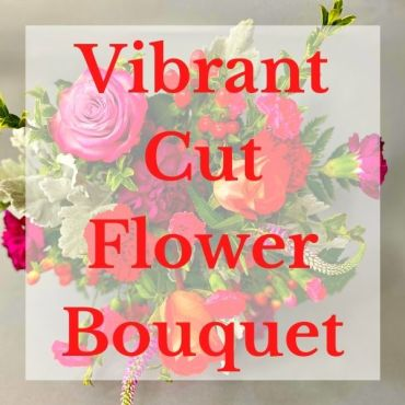 Vibrant Cut Flowers Bouquet