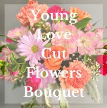 Young Love Cut Flowers Bouquet