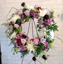 Lush and Lavender Wreath
