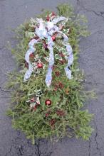 Grave Blanket decorated