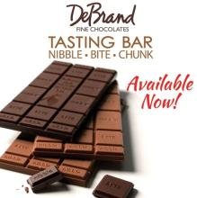 DeBrand Chocolate Tasting Bars